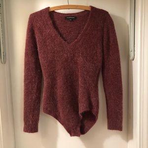 Red JillStuart Sweater Bodysuit
